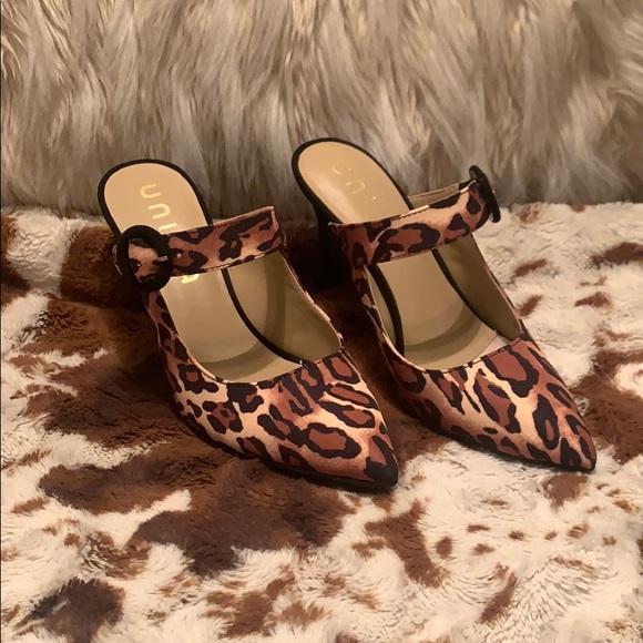unisa leopard shoes